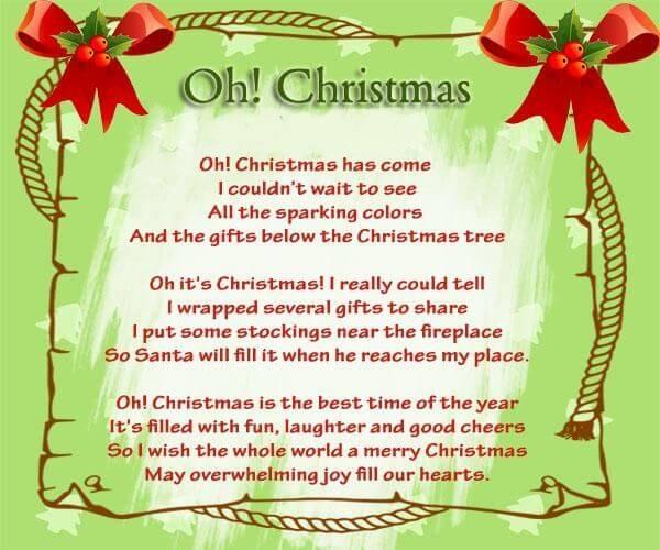 Christmas Prayer For Family