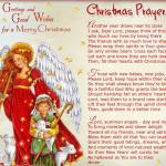 Short Christmas Prayers| Christmas Blessing Prayer For Family, Kids, Friends & Lord Jesus