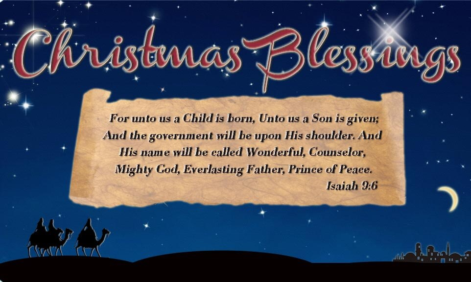 Christmas Prayers For Kids