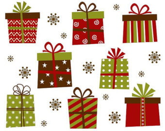 Christmas Present Clipart