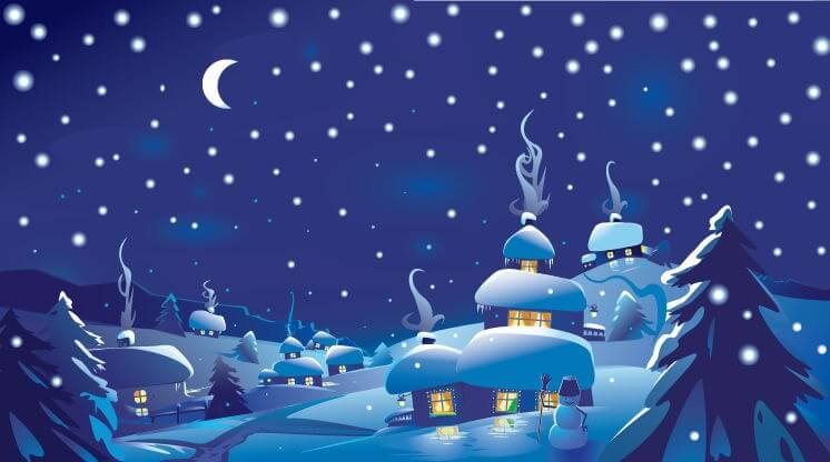 Christmas Scenes Clipart