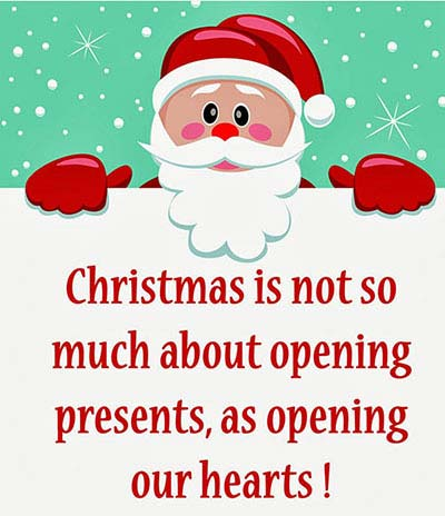 Cute Christmas Status 2017