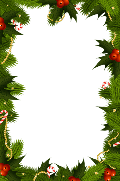 Free Christmas Clipart Borders