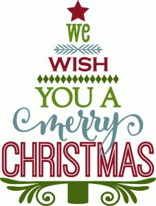 Wish You Merry Christmas Clipart