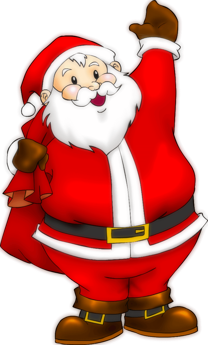 Cute Santa Claus Images