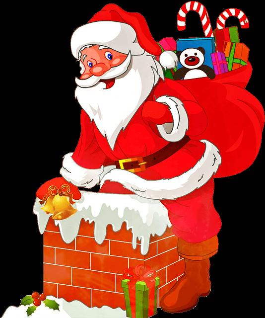 Cute Santa Claus