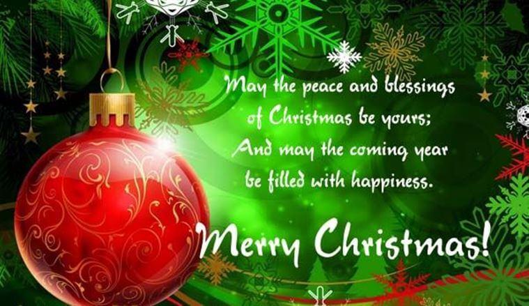 Merry Christmas 2017 Greetings