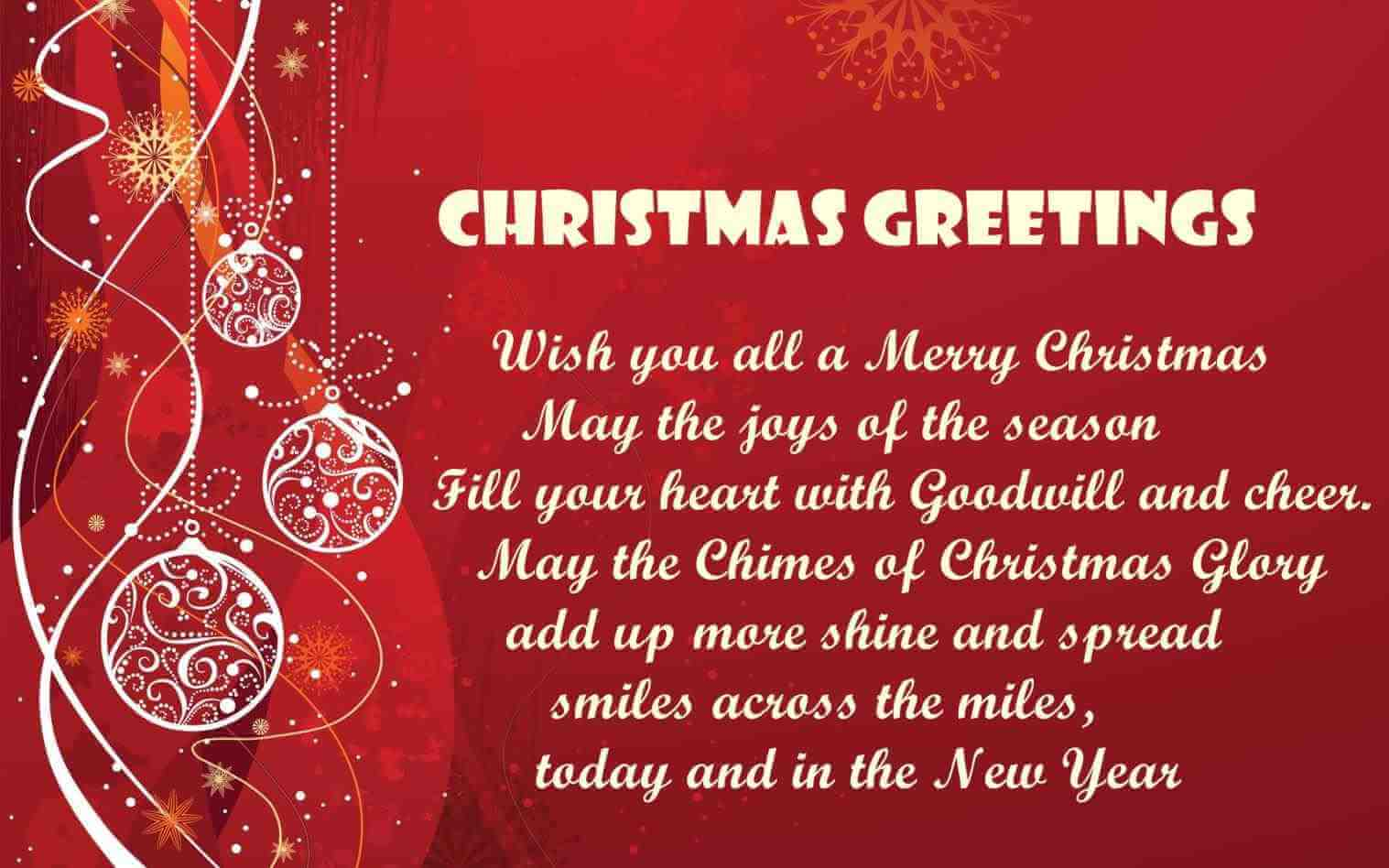 Merry Christmas Messages 2018 Christmas 2018 Sms Msg For Friends