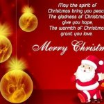 Merry Christmas Wishes For Friends, Family, Lover, Business Employees