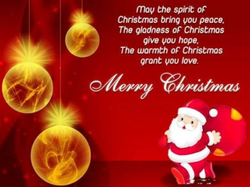 Merry Christmas Wishes 2018 - Christmas 2018 Wishes For Friends Family