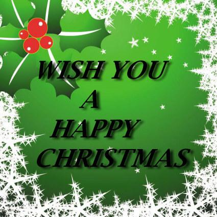 Wish You Merry Christmas Greetings