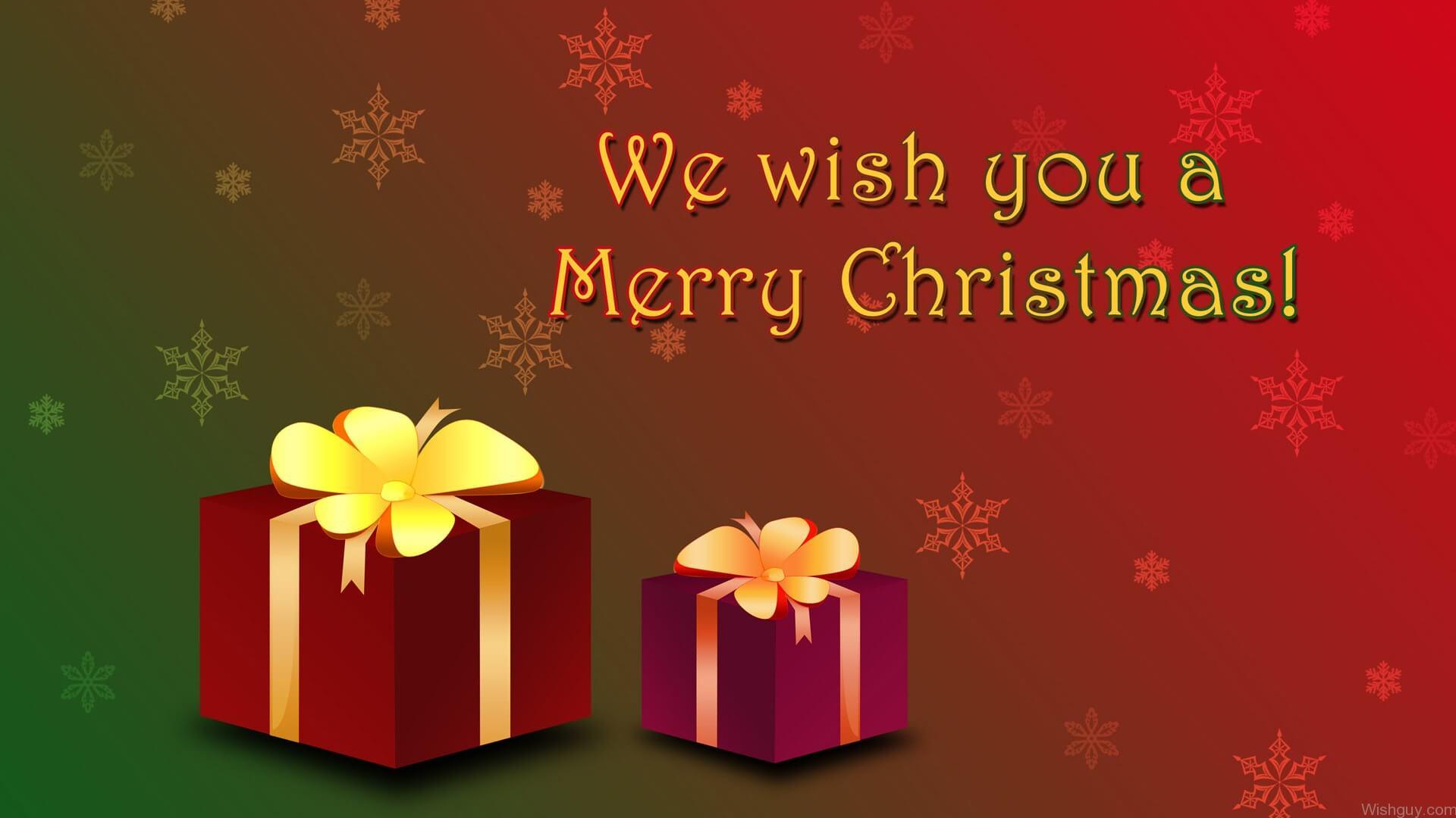 Wish You Merry Christmas