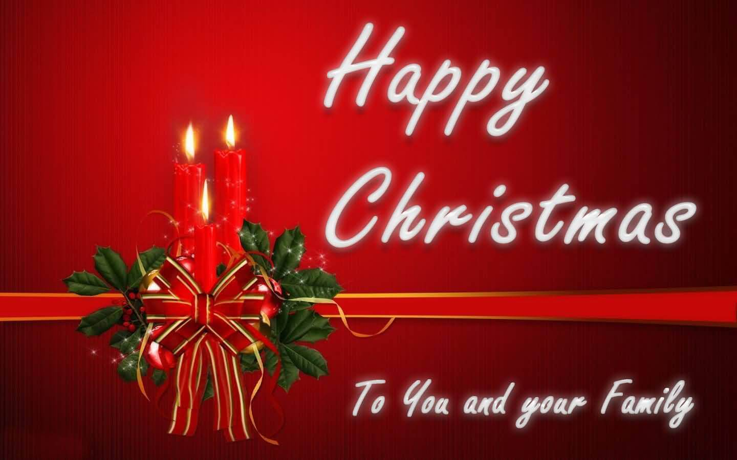 Wish You & Your Family Merry Christmas