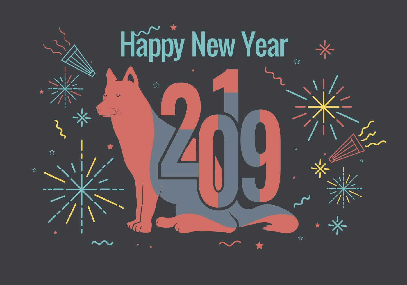 Funny Happy New Year 2019 Wallpapers