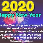 Happy New Year 2020 Messages For Friends, Family & Loved Ones