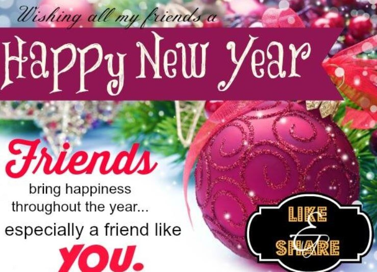New Year 2019 Messages For Friends
